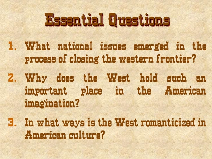 What was the role of the railroads in the settlement of the great west