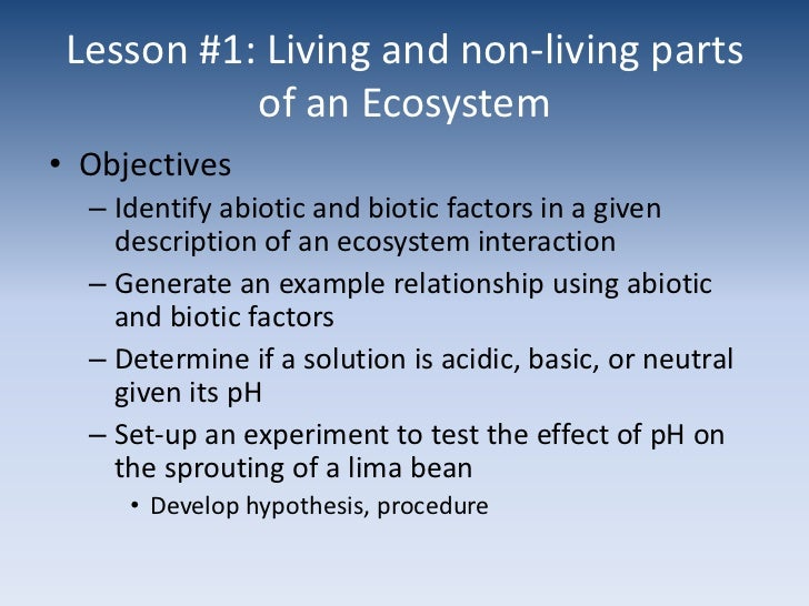 Unit 1 Ecology Powerpoint Goal 5 – Ecology Worksheets for High School