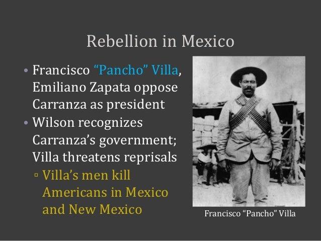 Mexican Revolution Pancho Villa Apush