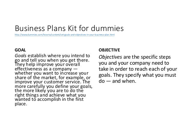 Business plan goals and objectives examples for Company goals and objectives template