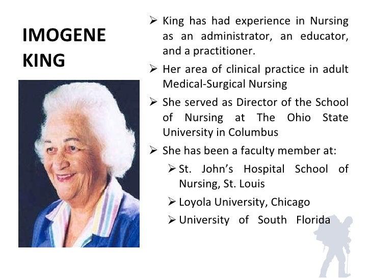 King Theory of Nursing