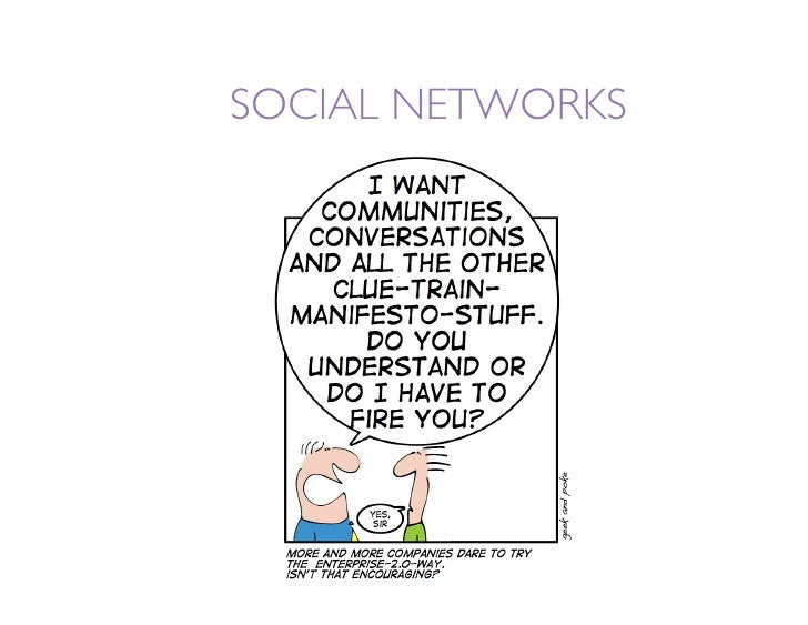 SOCIAL NETWORKS: WHAT ARE THEY GOOD FOR?  ⇒ Allowing your audience to    become a friend/fan/follower of    your institut...