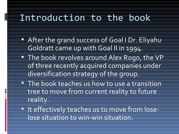 goal ii ppt goal iiits not luck 2 introduction to the