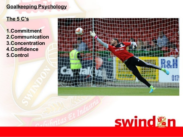 Goalkeeping Psychology The 5 C's 1.Commitment 2.Communication 3.Concentration 4.Confidence 5.Control