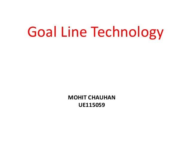 Goal Line Technology in Soccer