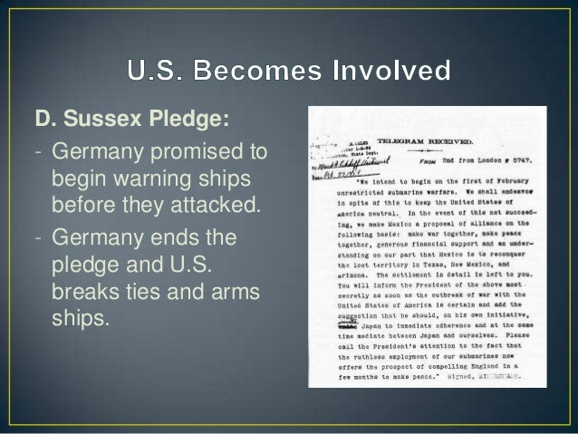 In the sussex pledge germany promised pic 579