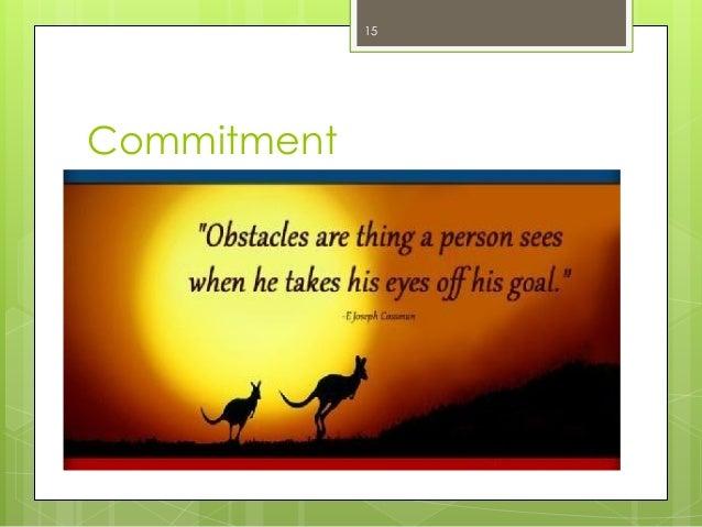 Commitment  15