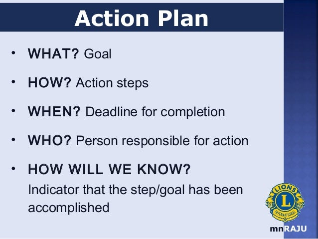 17 MnRAJU Action Plan