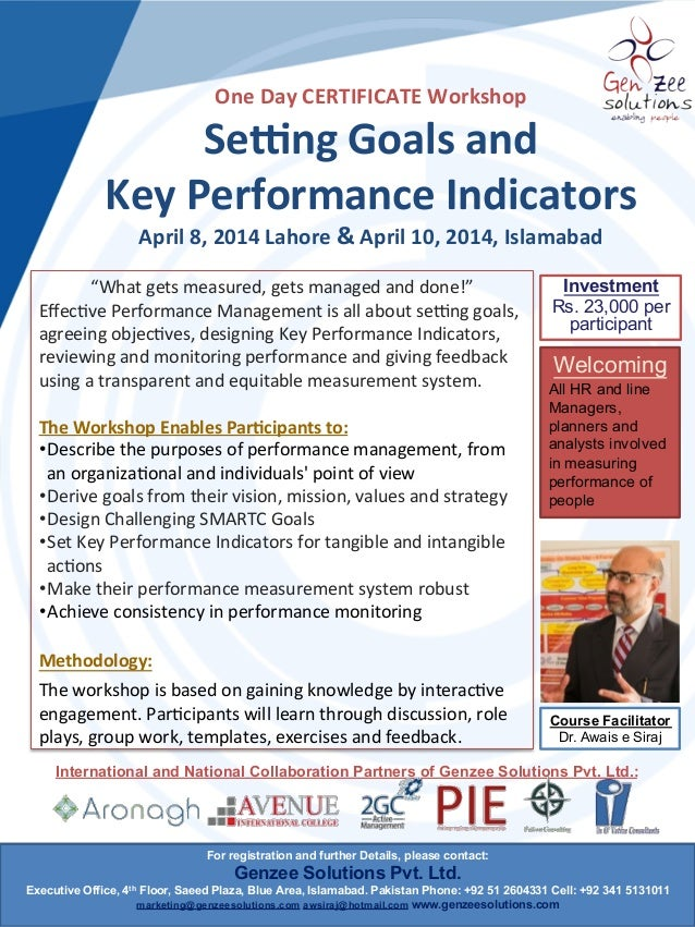 84786777a28fe9 Goal setting and kpi Workshop 2014