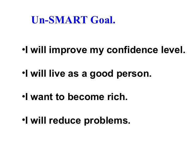 Goal setting ( SMART ) and Realization by Duraisamy R