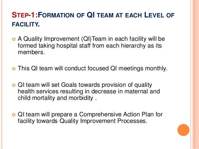 Basics of Quality Improvement