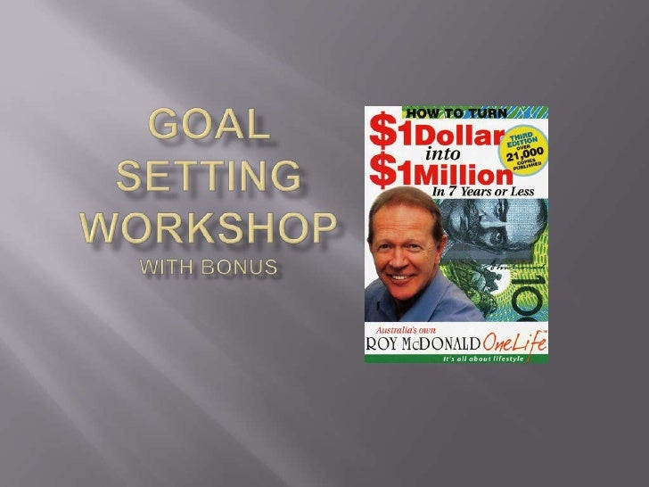Goal Setting Workshop With Bonus<br />