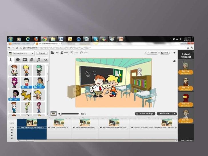 Instructional Project: Go! Animate