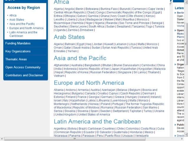 GOAP bibliografía: referencias sobre acceso abierto en América Latina y el Caribe