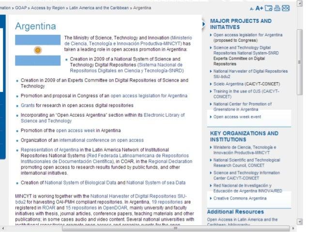 Desafíos para GOAP • Actualización permanente de los contenidos • Multilingüismo y multiculturalidad • Transitar de portal...