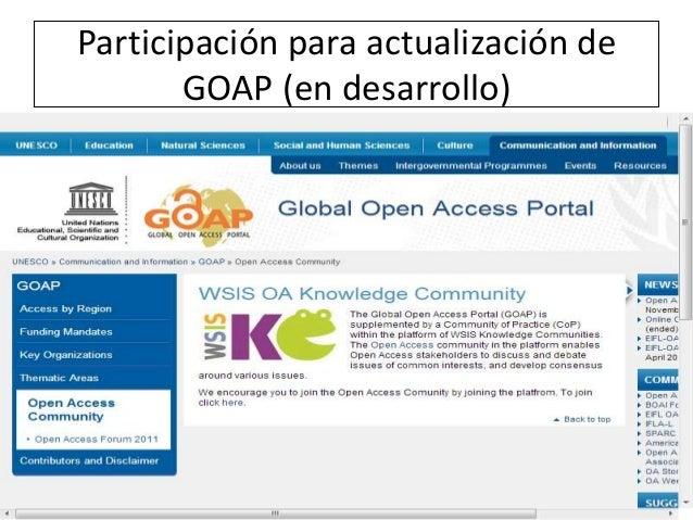 Goap – unesco global open access portal (2)