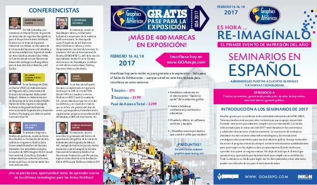 0bfe4f761 Graphics of the Americas 2017 Seminarios Español