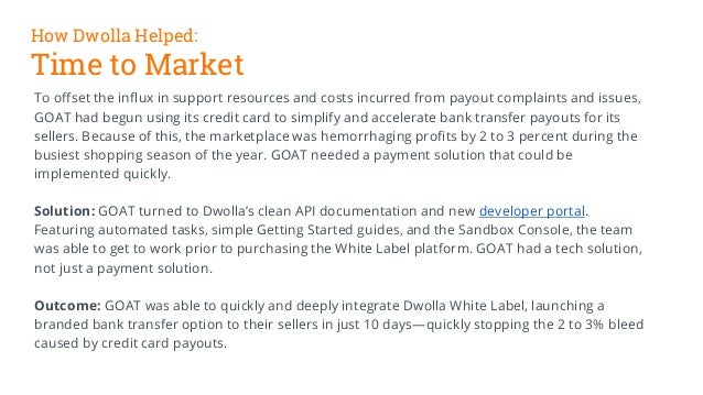 Case Study: How a marketplace improved ACH payouts with a