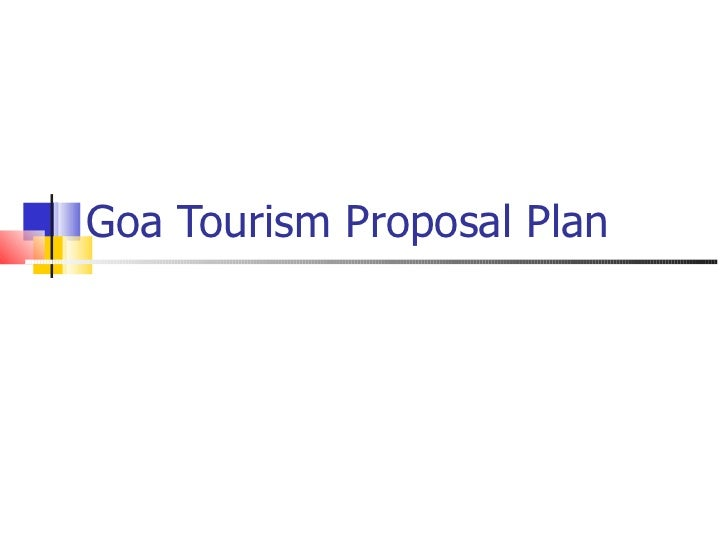 Goa Tourism Proposal Plan