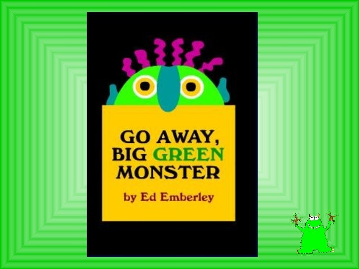 picture about Go Away Big Green Monster Printable Book identify Shift absent significant inexperienced monster