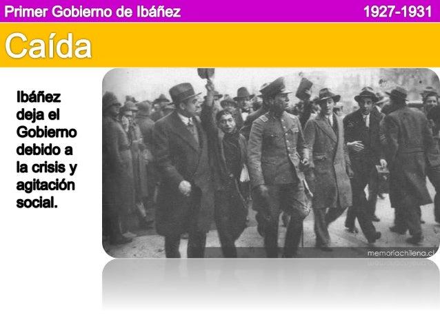 Primer Gobierno de Ibáñez