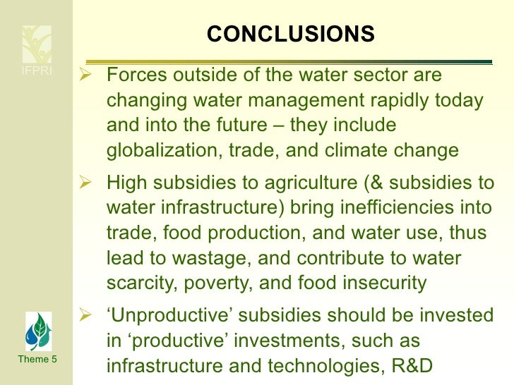 agricultural subsidies and globalisation Budgetary subsidies in  towards greater integration of world markets and attempts at globalisation  effects of agricultural subsidies on the.