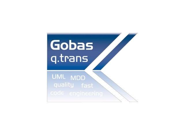 Erleben Sie Gobas q.trans! Ein Transformationswerkzeug, welches die UML-Welt mit der SAP® ABAP OO Welt verbindet. Schnell ...