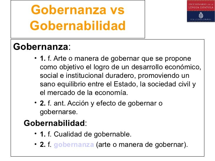 GOBERNANZA Y GOBERNABILIDAD PDF DOWNLOAD