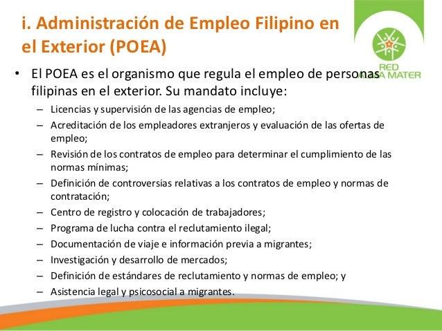 Gobernabilidad migratoria laboral 2009 for Ofertas de empleo banco exterior