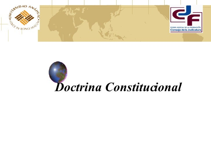 Doctrina Constitucional