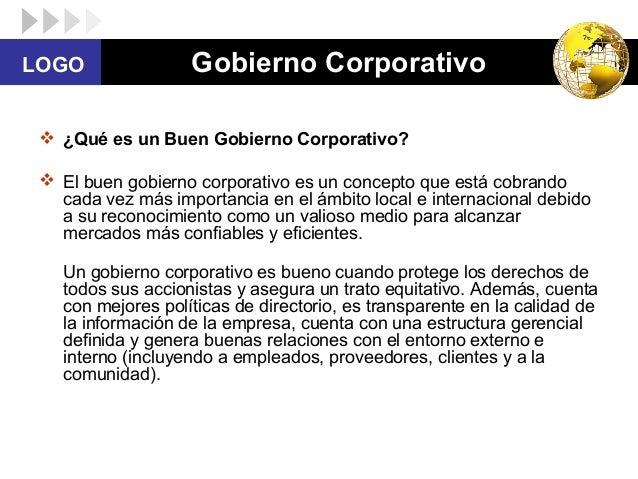 historia del gobierno corporativo Perfil corporativo historia  gobierno corporativo / buenas prácticas  el código promueve el ejercicio transparente del voto y fortalece la estructura y el .