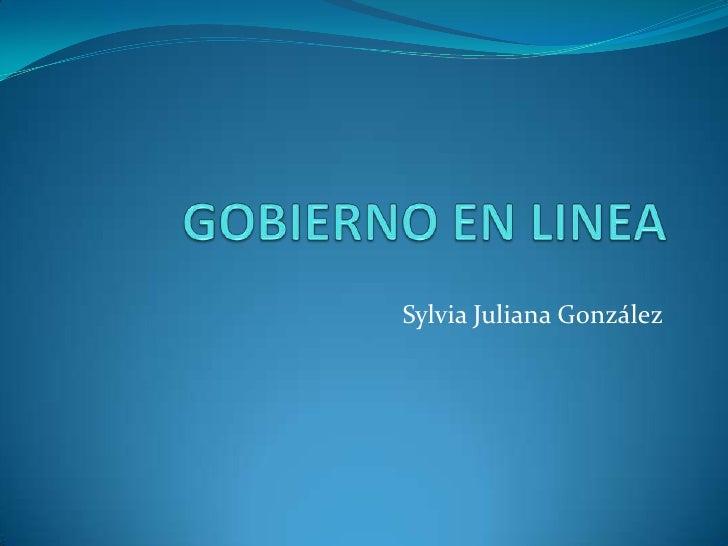 Sylvia Juliana González