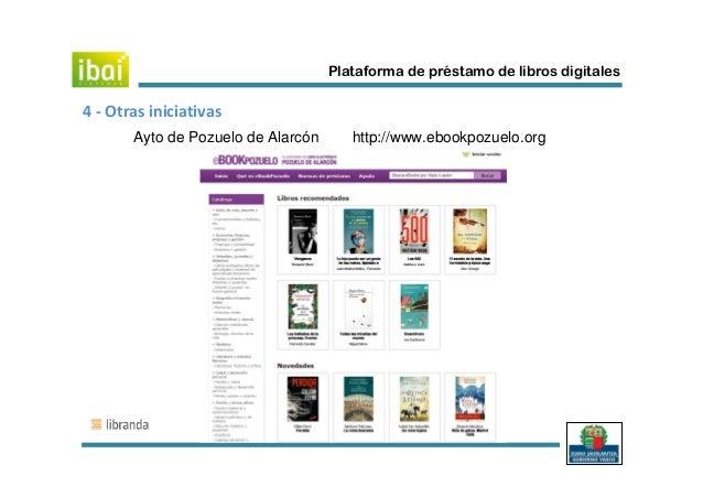 Reuni n del 15 de mayo de 2013 grupo trabajo pr stamo libros digitales - Libreria pozuelo ...
