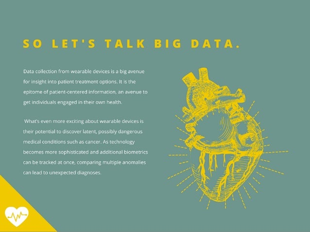 Go Big or Go Home—The Data Boon in Healthcare