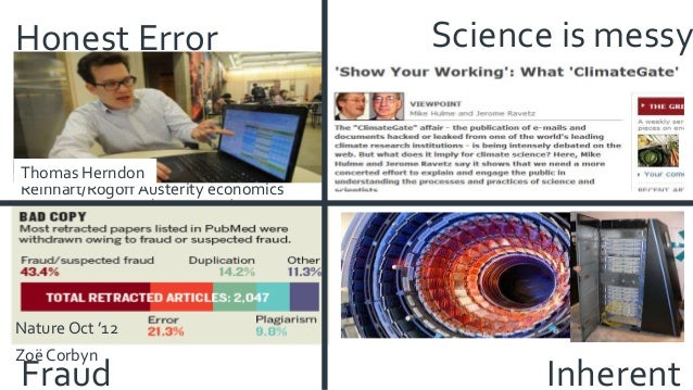 """When research goes """"wrong"""" »Tainted resources »Black boxes »Poor Reporting »Unavailable resources / results: data, softwar..."""