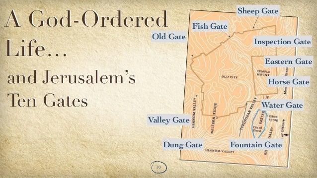 God ordered life on essene gate, draw gate, the dung gate, thayer gate, vine gate, shrine gate, section gate, range gate, hollow gate, volcano gate, newport gate, lake gate, mine gate, yellowstone gate,