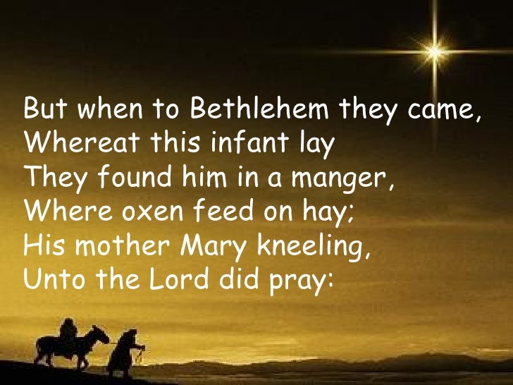 God Rest Ye Merry Gentlemen Trad