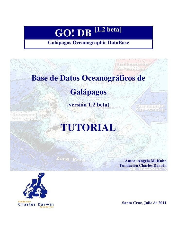 [1.2 beta]      GO! DB    Galápagos Oceanographic DataBaseBase de Datos Oceanográficos de            Galápagos           (...