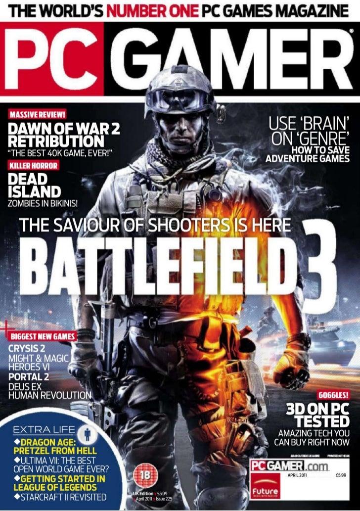 Revista PC Gamer Abril 2011