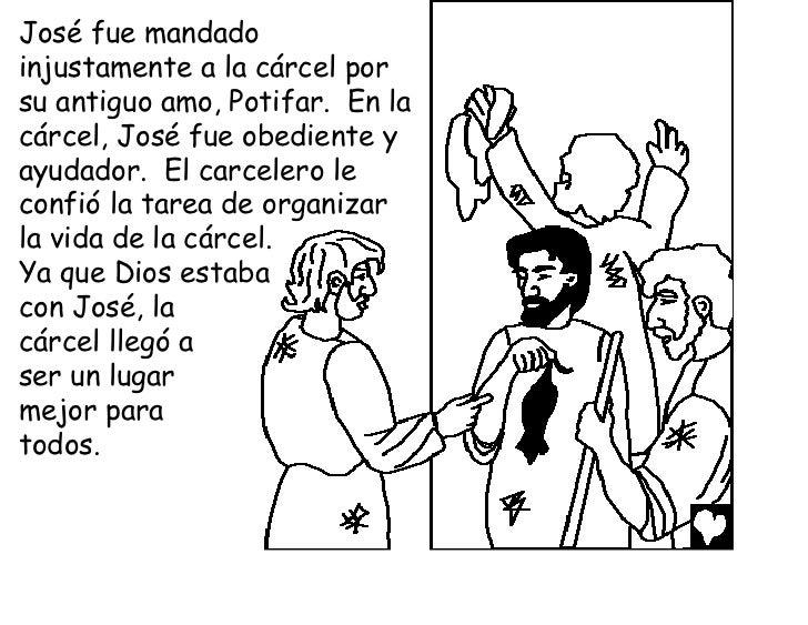 God honors joseph the slave spanish cb