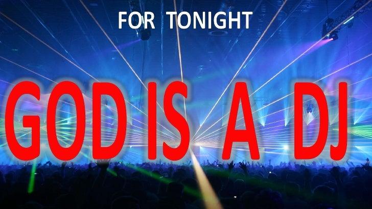 God is a dj (slideshare    nov. 2011)