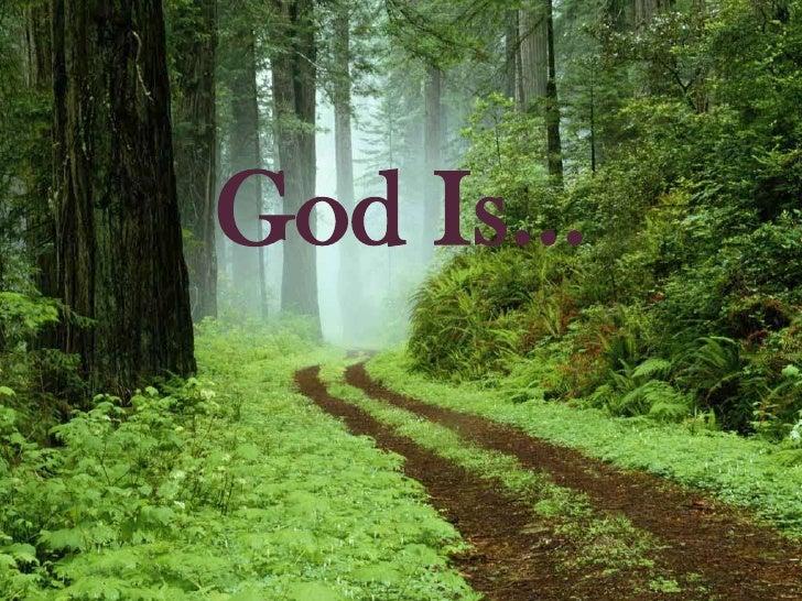 God Is…<br />