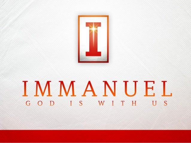 Introduction: • We can see God blessing mankind in sending Jesus who is also called Immanuel meaning God with us. Mt. 1:23...