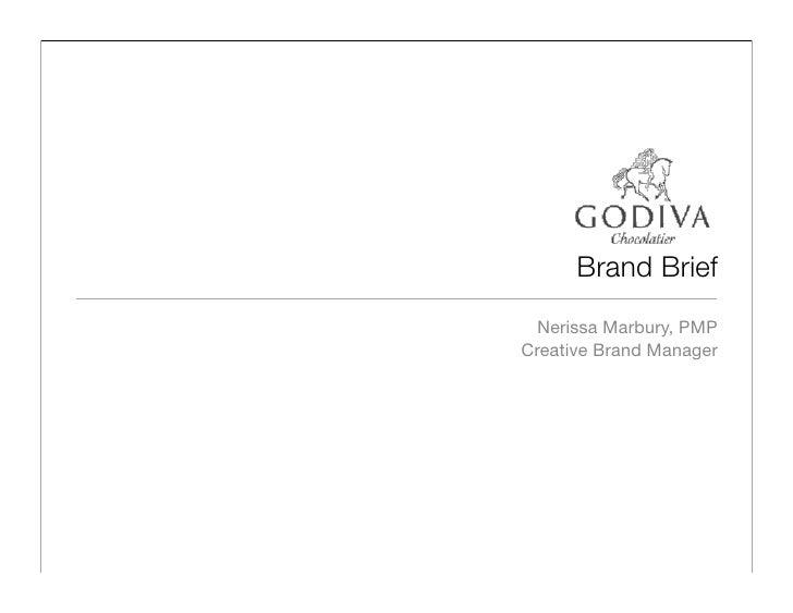 godiva brand brief
