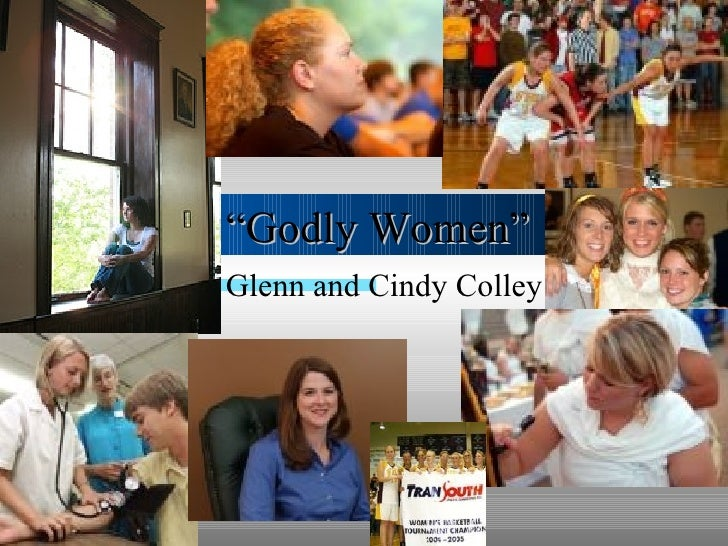 """"""" Godly Women"""" Glenn and Cindy Colley"""