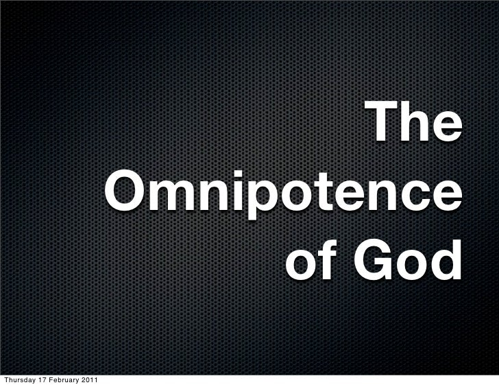 evil and omnipotence Test one learn with flashcards, games, and more — for free.