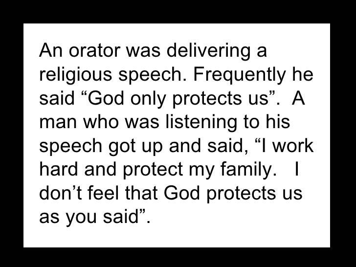 God only protect us Slide 2