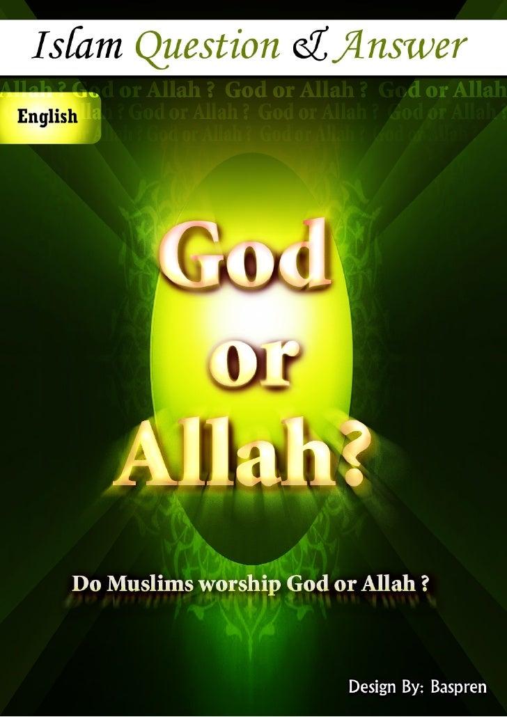 God Or Allah