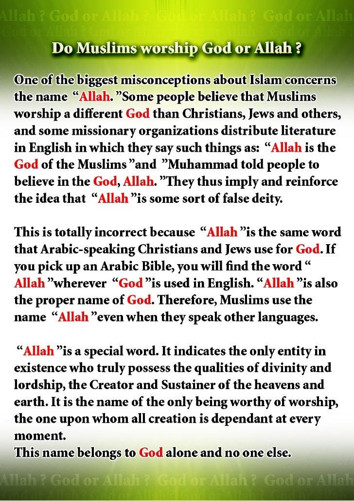 God Or Allah Slide 2