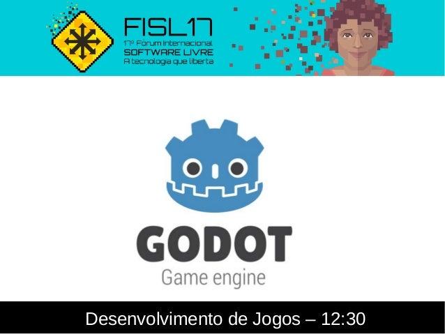 Desenvolvimento de Jogos – 12:30